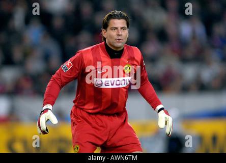 Goalkeeper Roman WEIDENFELLER Borussia Dortmund - Stock Photo