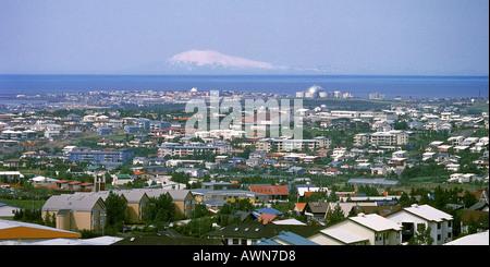 Kopavogur Suburb Reykjavik Iceland - Stock Photo