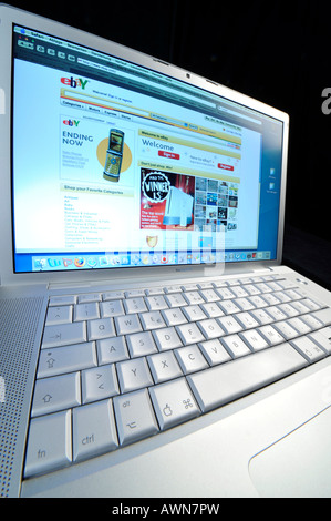 Online-shopping  EBAY - Stock Photo