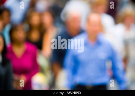 People in the street - Stock Photo
