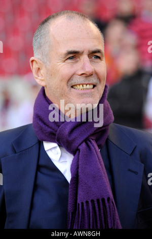 Manager Rolf DOHMEN Karlsruher SC Germany - Stock Photo