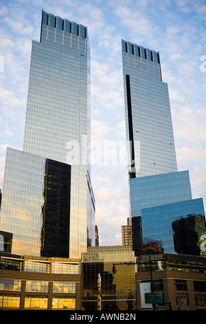 Columbus circle new york - Stock Photo