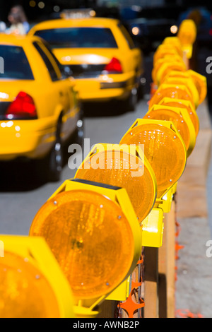 Taxicabs in new york - Stock Photo