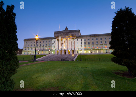 Stormont buildings seat of the Northern Irish assembly Belfast Northern Ireland - Stock Photo