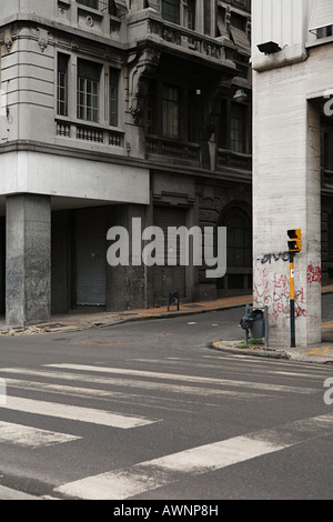 A street in the old town of buenos aires - Stock Photo