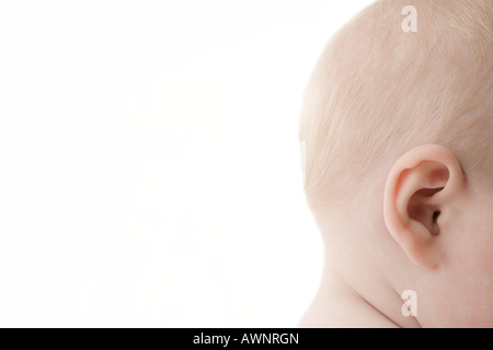 Babys head - Stock Photo