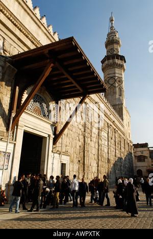 Umayyad Mosque at Damascus, Syria - Stock Photo