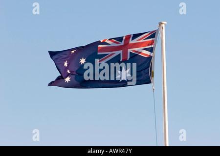 Australian flag - Stock Photo