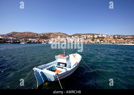 greece northern aegean islands samos the resort of pythagorion - Stock Photo