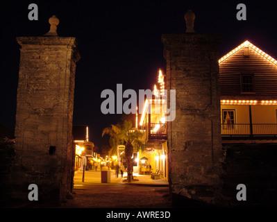 AJD38769, St. Augustine, FL, Florida - Stock Photo