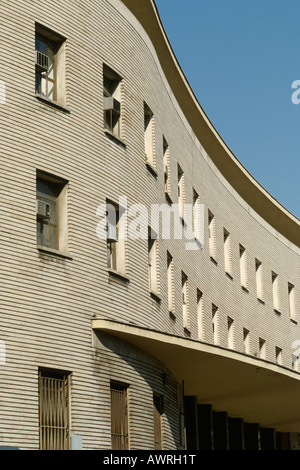 Rome Italy Post Office building on Piazza Bologna by architect Mario Ridolfi 1933 - 35 - Stock Photo