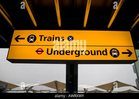 Train Destination Display Information Board On The London