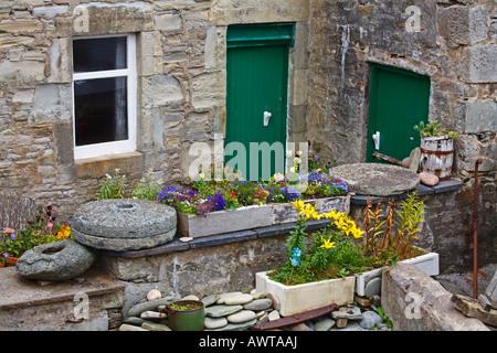 The Lodberrie in Lerwick Town Mainland Island Shetland Islands Scotland United Kingdom - Stock Photo