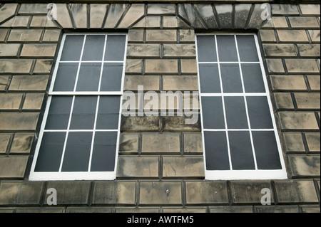 Example of blind windows in Edinburgh, Scotland, to avoid the Window Tax - Stock Photo