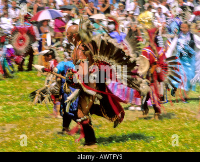 First Nations People Performing Dance Called Hamatsa Or