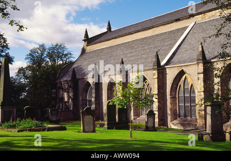 Greyfriars Kirk Edinburgh Scotland - Stock Photo