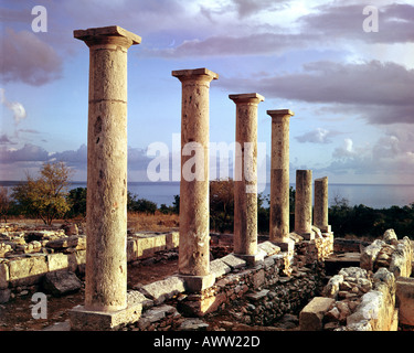 CY - CURIUM: The ancient Temple of Apollo - Stock Photo