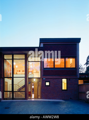 PRIVATE HOUSE, UK - Stock Photo