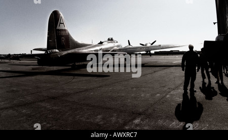 Boeing B 17G Flying Fortress - Stock Photo