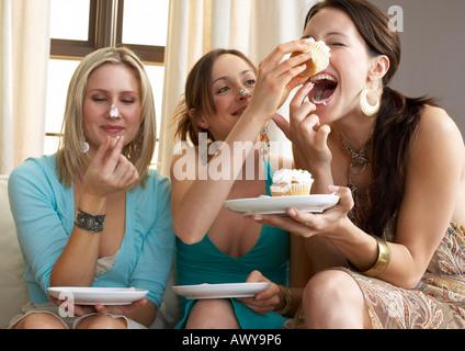 Portrait of Women at Party
