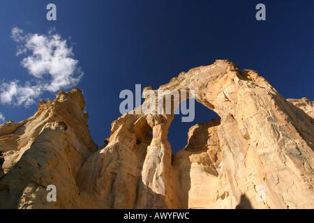 Grosvenor Arch, Utah - Stock Photo