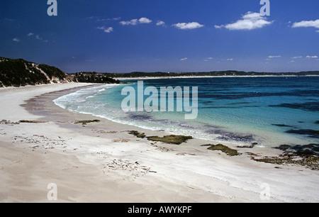 Vivonne Bay on Kangaroo Island, Australia - Stock Photo
