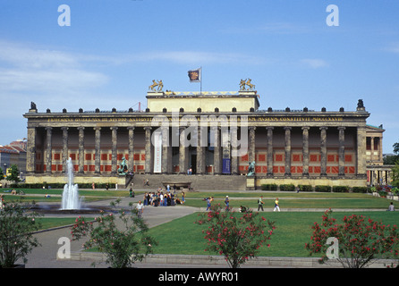 The Altes Museum on Museum Island Berlin Germany - Stock Photo