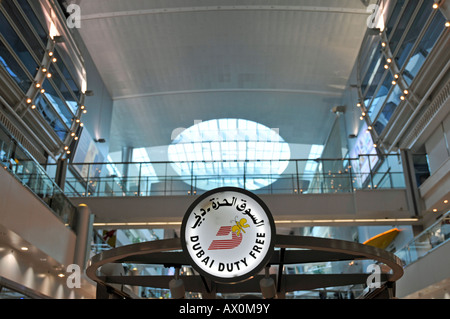 Duty Free Shop, Sheikh Rashid Terminal, Dubai International Airport, Dubai, United Arab Emirates, Asia - Stock Photo