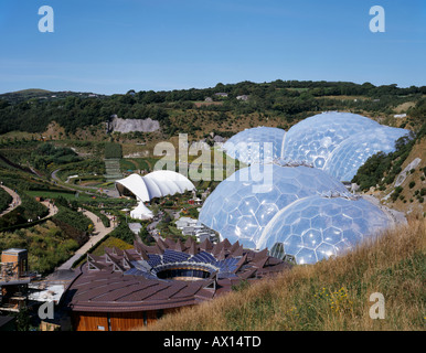THE CORE AT THE EDEN PROJECT, ST AUSTELL, UK - Stock Photo