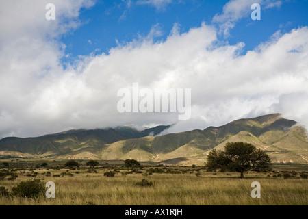 Landscape at Tafi del Valle, Argentina, South America - Stock Photo
