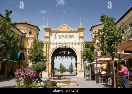 Fidenza shopping outlet mall Fidendza Emilia Romagna Italy Stock ...