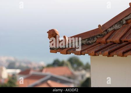 clay figure remate de tecto Funchal Madeira - Stock Photo