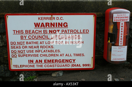 Kennack Sands Kuggar near Helston Cornwall England GB UK 2008 - Stock Photo