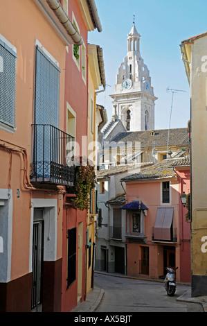 St. Mary's Basilica, La Seu Cathedral, Xàtiva (Játiva), Valencia, Spain, Europe - Stock Photo