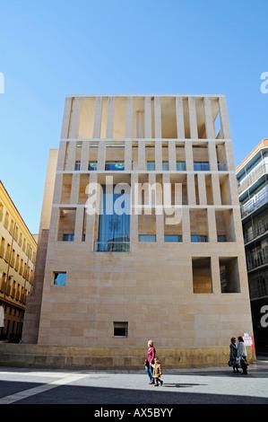 City hall, Plaza Cardenal Belluga (Cardinal Belluga Square), Murcia, Spain, Europe - Stock Photo