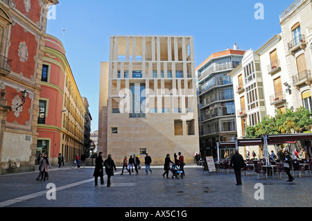 City hall, Plaza Cardenal Belluga (Cardinal Belluga Square), Murcia, Spain, Europe - Stock Photo