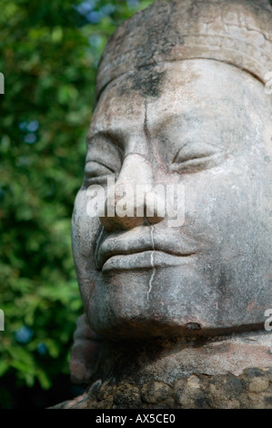 Angkor Thom South Gate Temples of Angkor Siem Reap Cambodia Asia - Stock Photo
