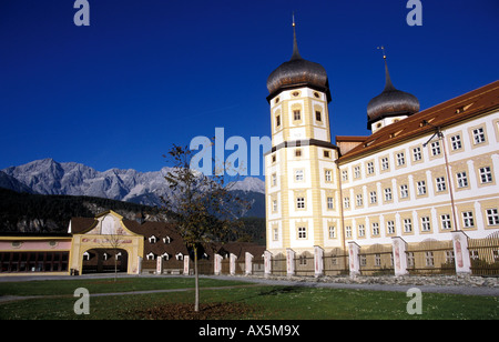 Cistercian monastery stams - Stock Photo
