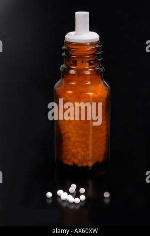 Homeopathic medicine - Stock Photo