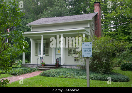 Thirteenth President Millard Fillmore built his own house East Aurora New York Erie County - Stock Photo