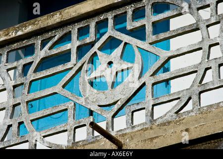 Islamic Architectural Detail in Mattancherry Cochin India - Stock Photo
