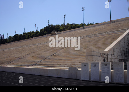 Olympic Panathinaikon Stadium Kalimarmara - Stock Photo