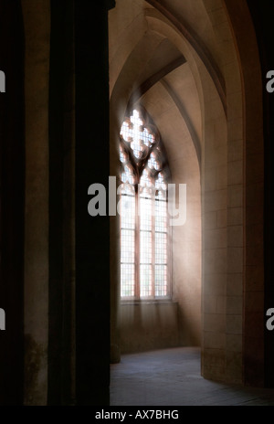 Cloister Eberbach, Germany, the film the name of the rose was shot here (indoor photographs) - Stock Photo