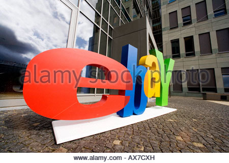 ebay head office. German Head Office Of Ebay - Stock Photo U