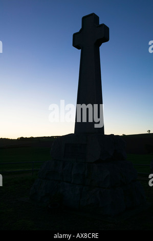 Memorial for the Battle of Flodden Field, near Branxton, Northumberland, England - Stock Photo