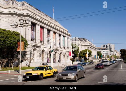 Opera House and Veterans Building San Francisco - Stock Photo