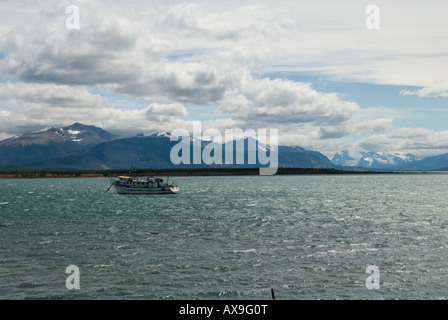 Chile Patagonian Stepp - Stock Photo