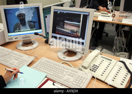 The Common Anti-Terror Center in Berlin, Germany - Stock Photo