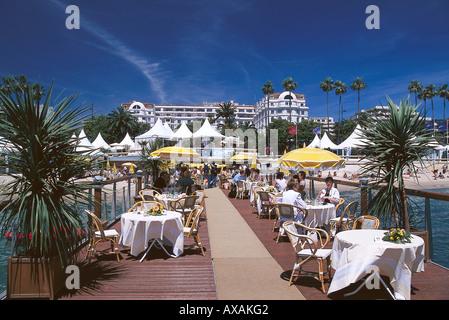 Festival de Cannes, Boulevard de la Croisette, Cannes Cote d'Azur, France