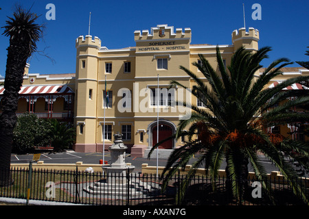 somerset hospital from granger bay boulevard cape town western cape province south africa - Stock Photo